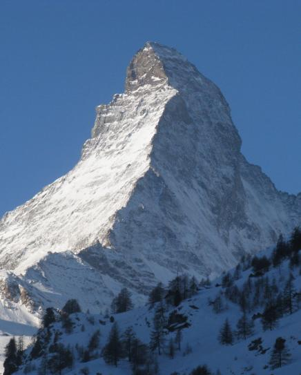 The world famous Matterhorn